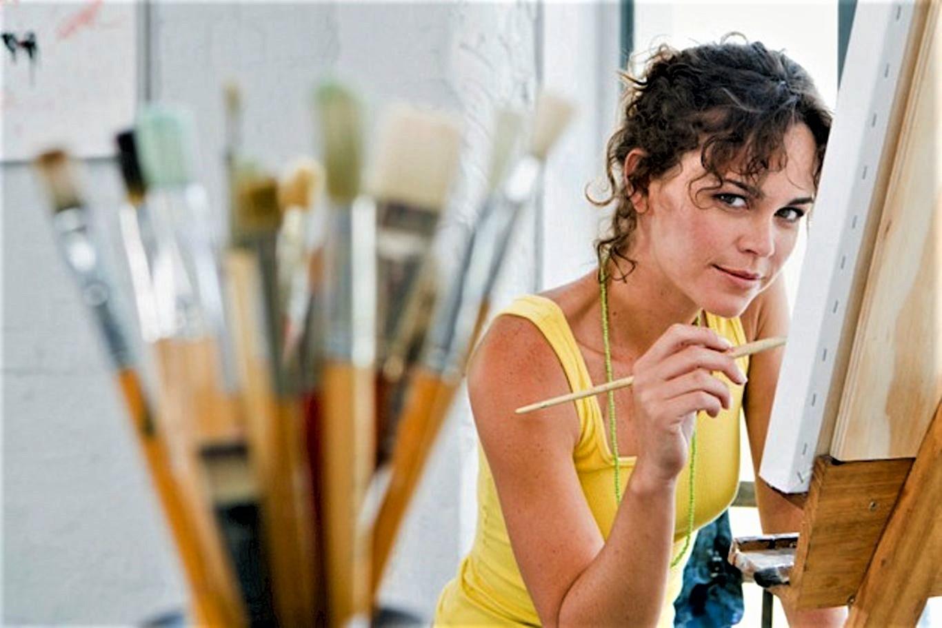 Мастер-класс живописи маслом