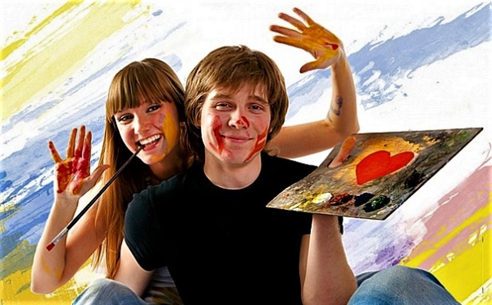 Урок живописи для двоих