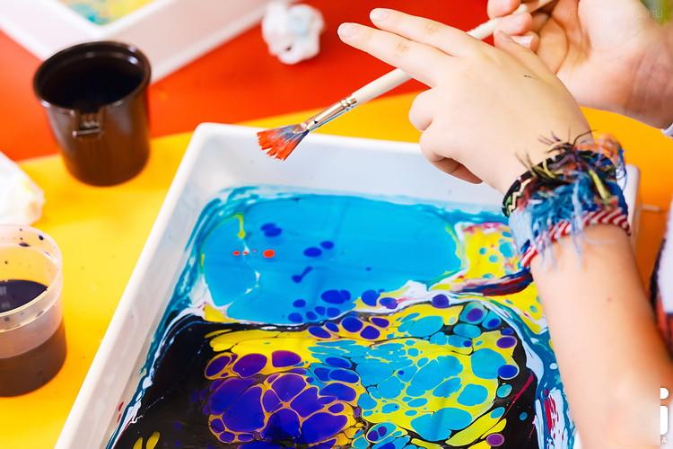 Эбру - рисунки на воде
