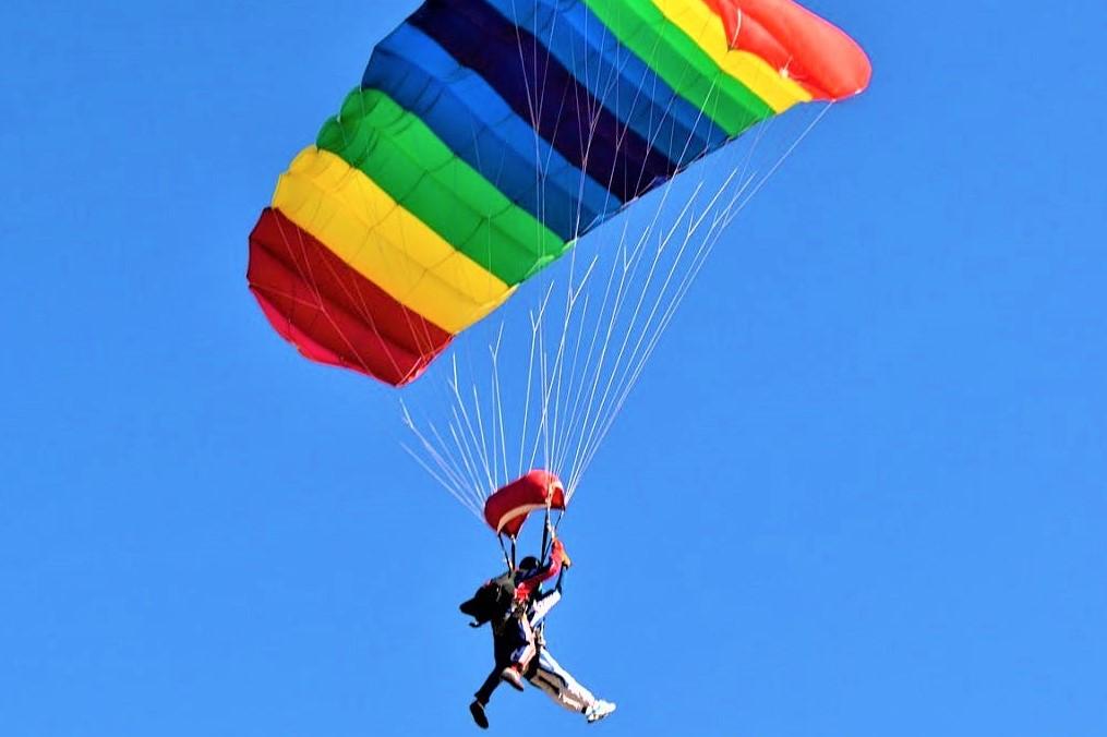 Прыжок с парашютом Static-Line