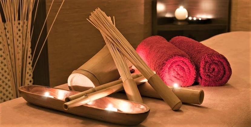 Бамбуковый массаж тела