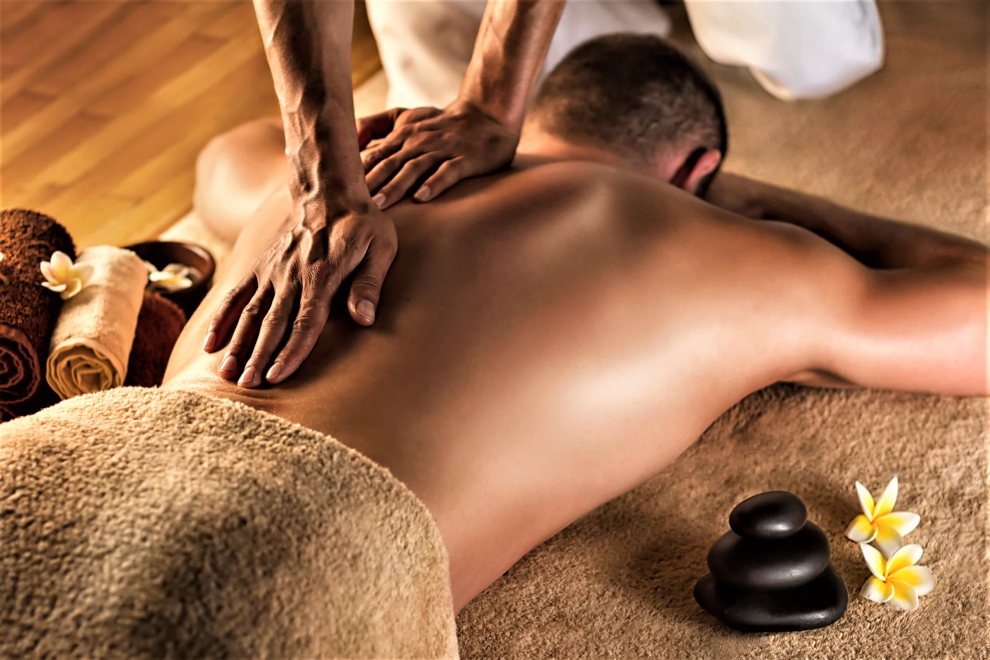Тандем массаж в 4 руки