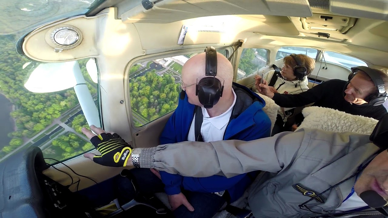 Полет на самолете для компании