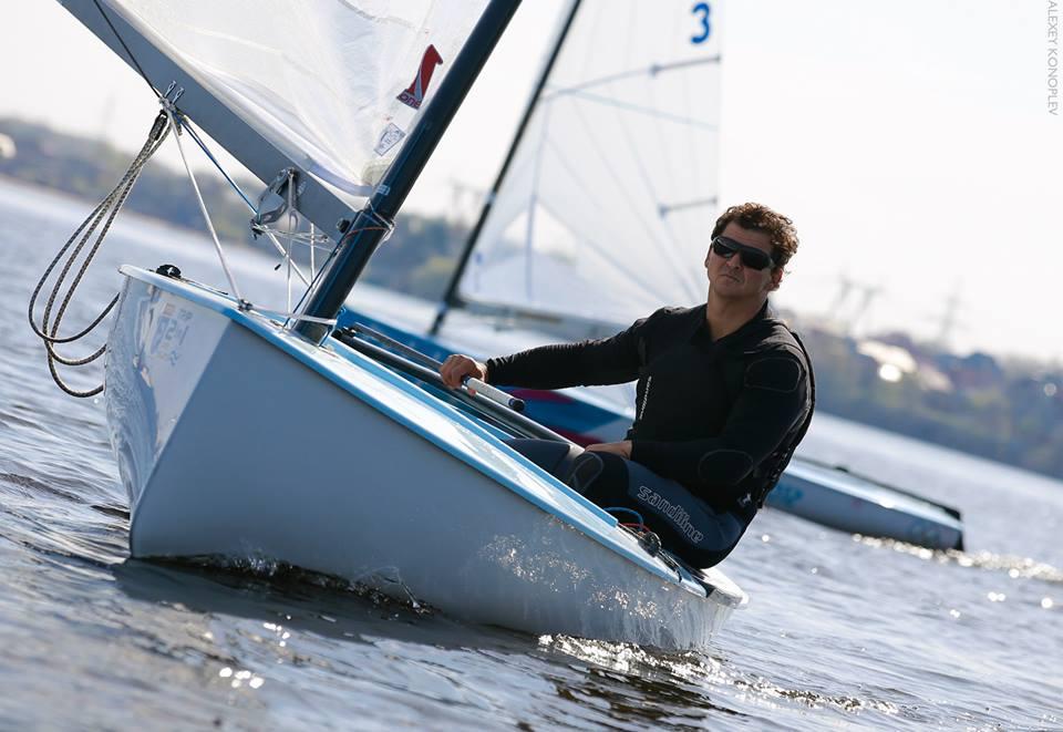 Мастер-класс на олимпийской яхте класса финн