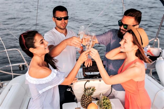VIP отдых на яхте