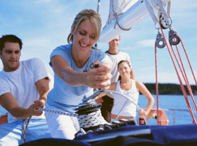 Мастер-класс по управлению парусной яхтой