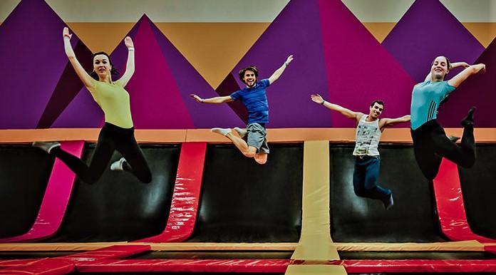 Мастер-класс по прыжкам на батуте