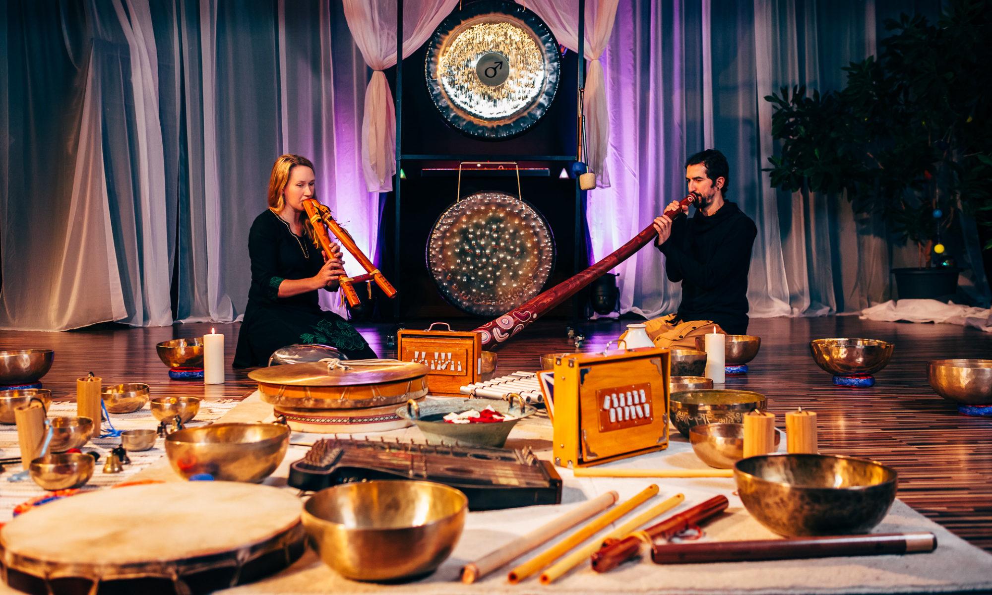 Йога, звук, релакс (в группе)