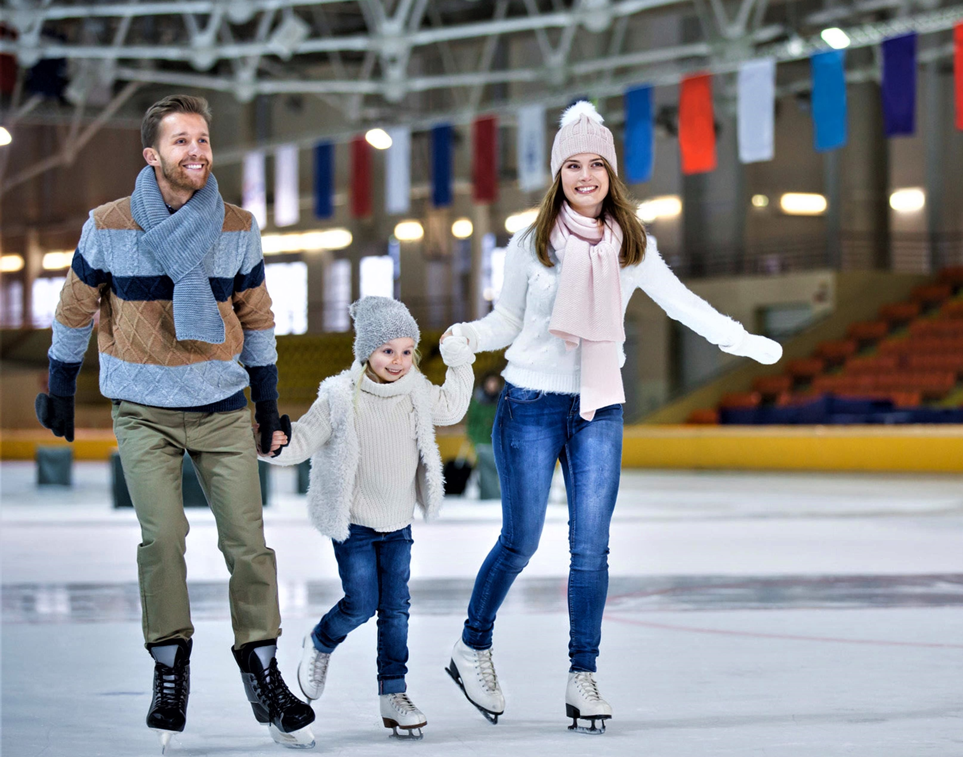 Мастер-класс катания на коньках