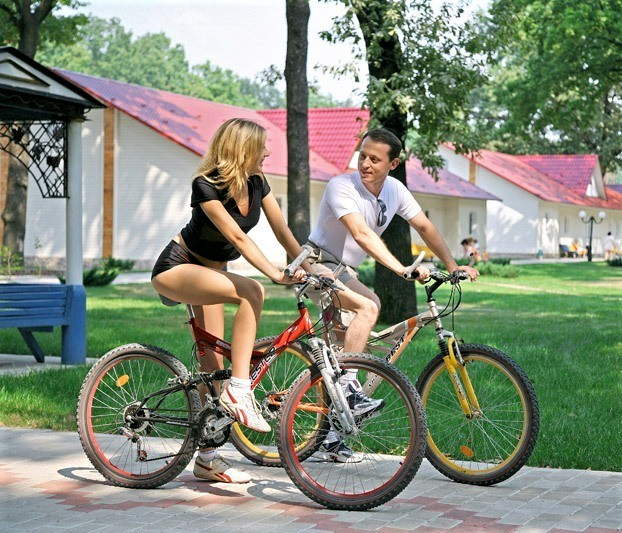 Прогулка на велосипедах
