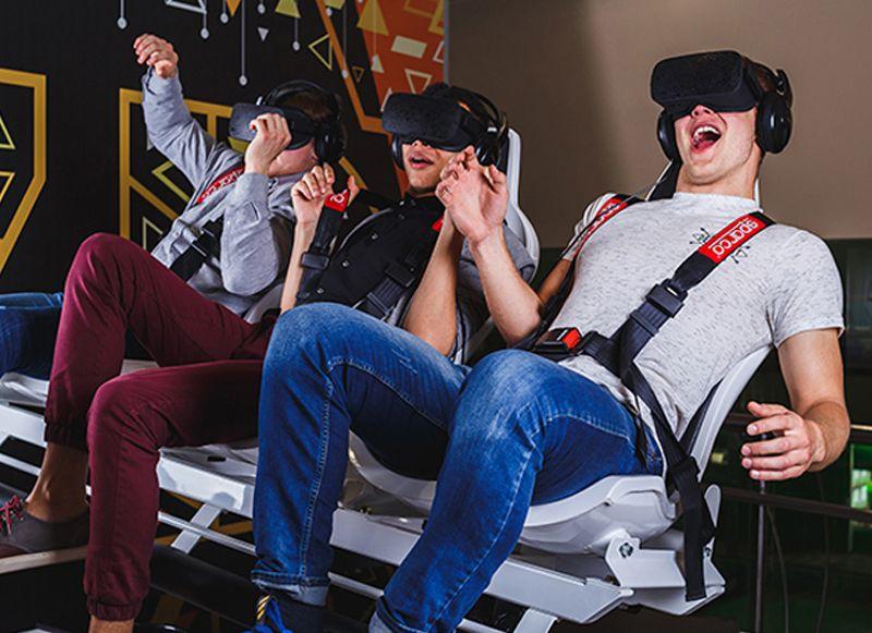 Экшен - фильм в виртуальных очках